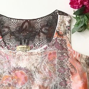 🌸5 items for $25! boho chic sheer tank top